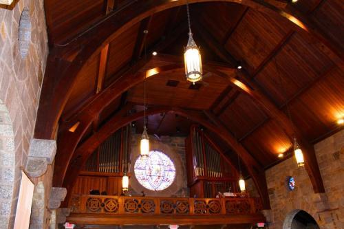 A view of the choir loft