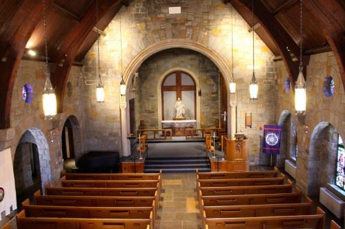 The Sanctuary from the choir loft