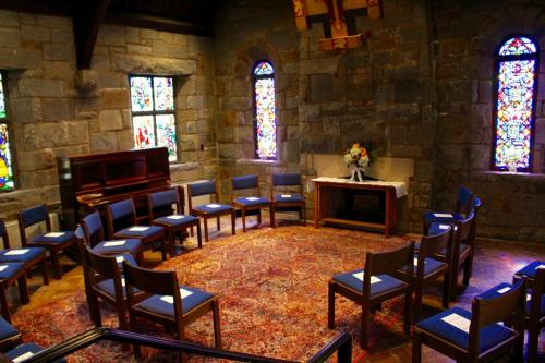 Our chapel is perfect for weddings too